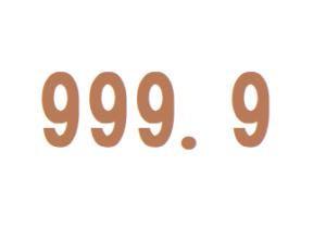 フォーナインズ 999.9